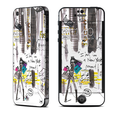 Apple iPhone 5 Skin - My New York Mood