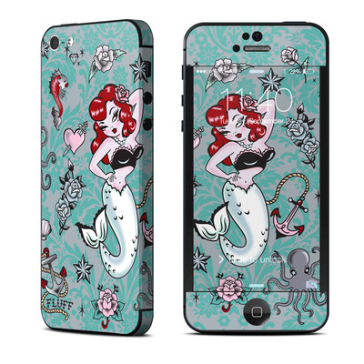 Apple iPhone 5 Skin - Molly Mermaid
