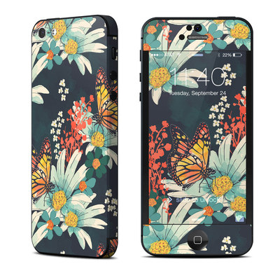 Apple iPhone 5 Skin - Monarch Grove