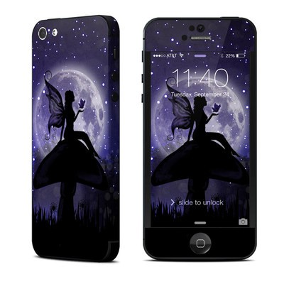 Apple iPhone 5 Skin - Moonlit Fairy