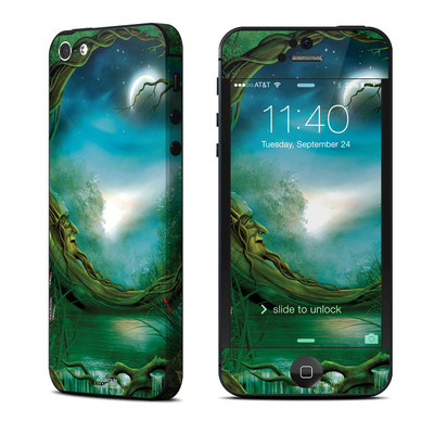 Apple iPhone 5 Skin - Moon Tree