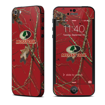 Apple iPhone 5 Skin - Break-Up Lifestyles Red Oak
