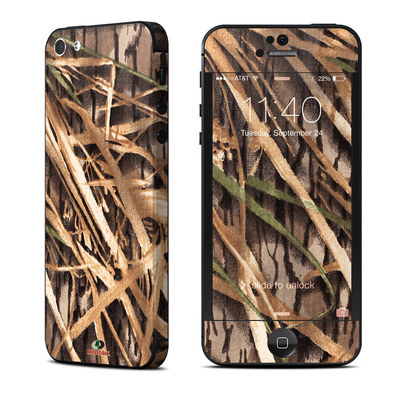 Apple iPhone 5 Skin - Shadow Grass