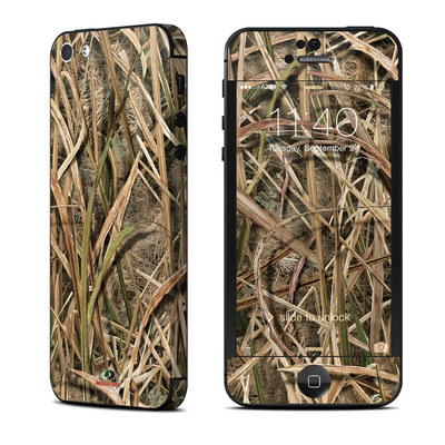Apple iPhone 5 Skin - Shadow Grass Blades