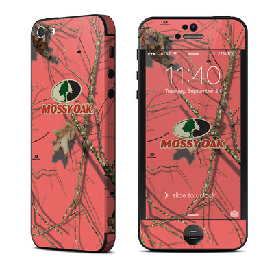 Apple iPhone 5 Skin - Break-Up Lifestyles Salmon