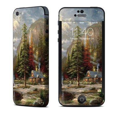 Apple iPhone 5 Skin - Mountain Majesty