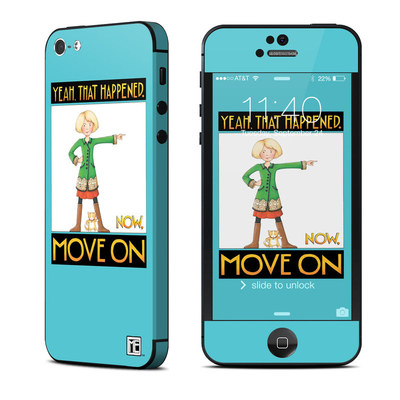 Apple iPhone 5 Skin - Move On