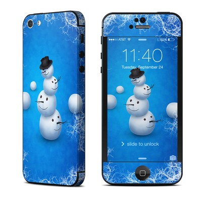 Apple iPhone 5 Skin - Merry Snowman
