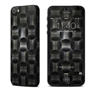 Apple iPhone 5 Skin - Metallic Weave