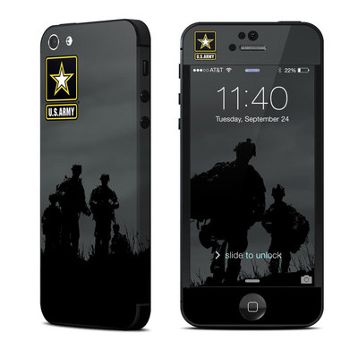 Apple iPhone 5 Skin - Night Action