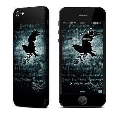 Apple iPhone 5 Skin - Nevermore