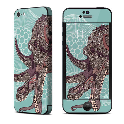 Apple iPhone 5 Skin - Octopus Bloom