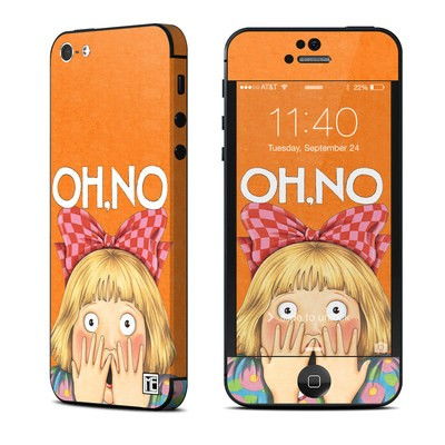 Apple iPhone 5 Skin - Oh No