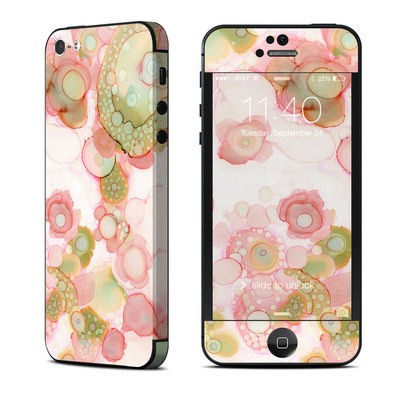 Apple iPhone 5 Skin - Organic In Pink