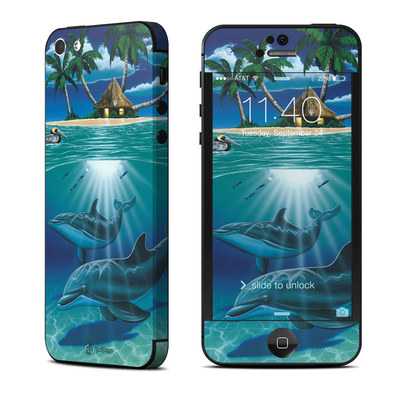 Apple iPhone 5 Skin - Ocean Serenity