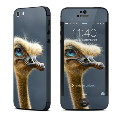 Apple iPhone 5 Skin - Ostrich Totem