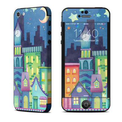Apple iPhone 5 Skin - Our Town