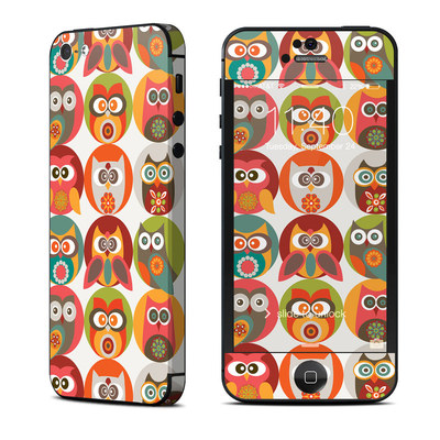 Apple iPhone 5 Skin - Owls Family