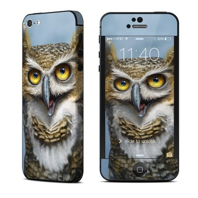 Apple iPhone 5 Skin - Owl Totem