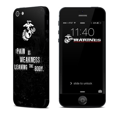 Apple iPhone 5 Skin - Pain