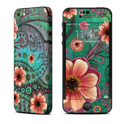 Apple iPhone 5 Skin - Paisley Paradise