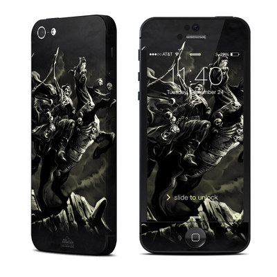 Apple iPhone 5 Skin - Pale Horse