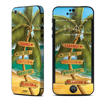 Apple iPhone 5 Skin - Palm Signs