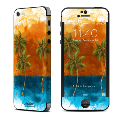 Apple iPhone 5 Skin - Palm Trio