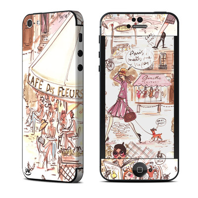 Apple iPhone 5 Skin - Paris Makes Me Happy