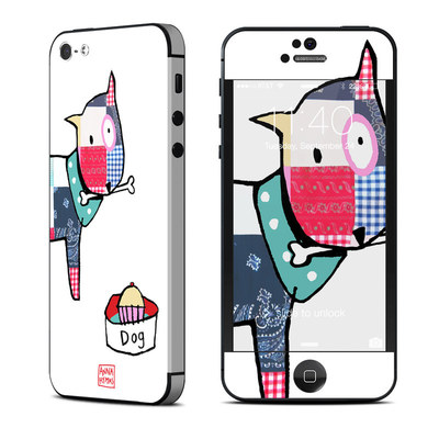 Apple iPhone 5 Skin - Patch Dog