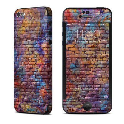 Apple iPhone 5 Skin - Painted Brick