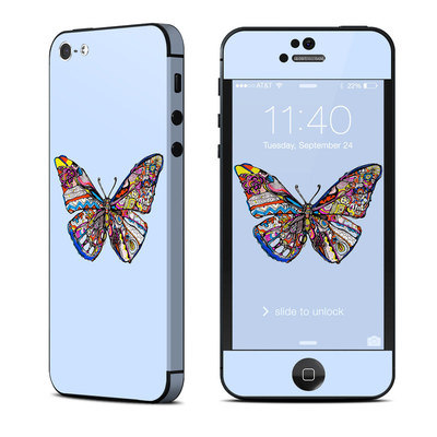 Apple iPhone 5 Skin - Pieced Butterfly