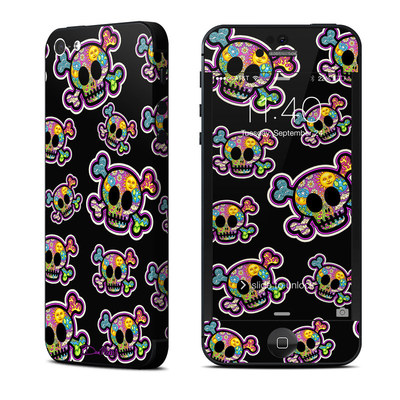 Apple iPhone 5 Skin - Peace Skulls