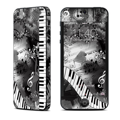 Apple iPhone 5 Skin - Piano Pizazz