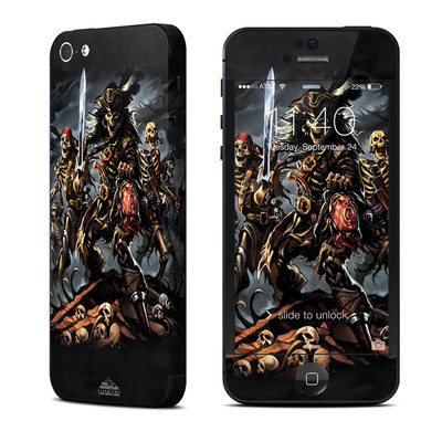 Apple iPhone 5 Skin - Pirates Curse
