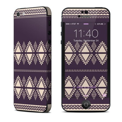 Apple iPhone 5 Skin - Plum Cozy