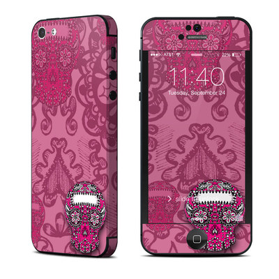 Apple iPhone 5 Skin - Pink Lace