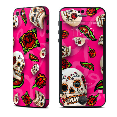 Apple iPhone 5 Skin - Pink Scatter