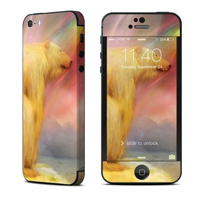 Apple iPhone 5 Skin - Polar Bear