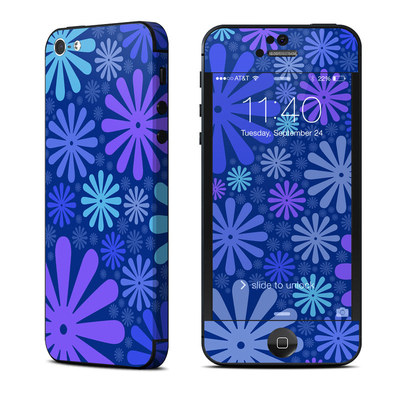 Apple iPhone 5 Skin - Indigo Punch