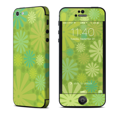 Apple iPhone 5 Skin - Lime Punch