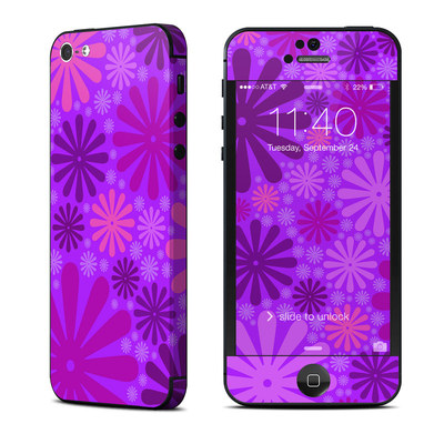 Apple iPhone 5 Skin - Purple Punch