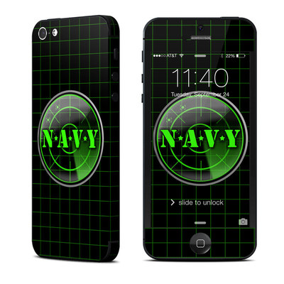 Apple iPhone 5 Skin - Radar