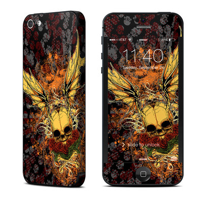 Apple iPhone 5 Skin - Radiant Skull