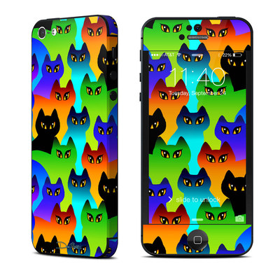 Apple iPhone 5 Skin - Rainbow Cats