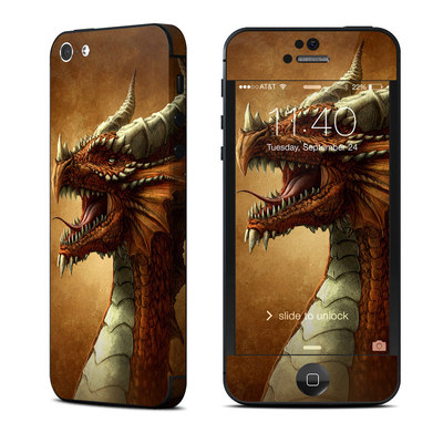 Apple iPhone 5 Skin - Red Dragon