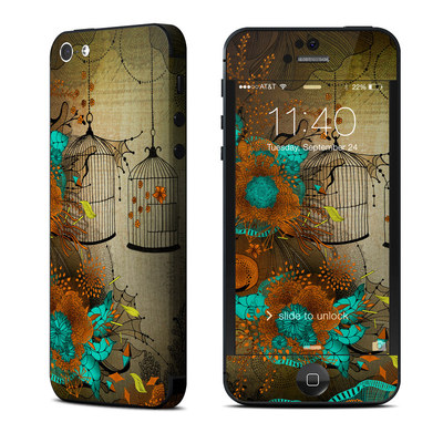 Apple iPhone 5 Skin - Rusty Lace