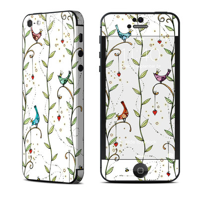Apple iPhone 5 Skin - Royal Birds