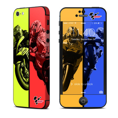 Apple iPhone 5 Skin - Race Panels