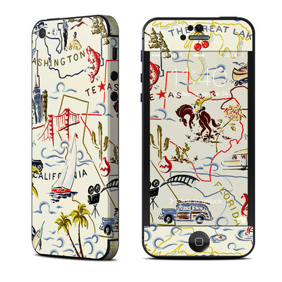 Apple iPhone 5 Skin - Road Trip